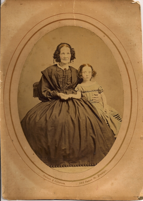 Mary Rigby Gould with daughter Emma Gould.